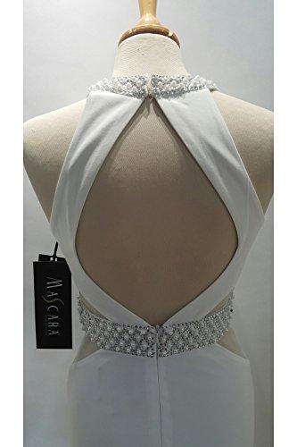Abito Jersey Con Couture Mc166084 Mascara 14 US Trim In UK 10 Avorio Perla ZFxEFqgw