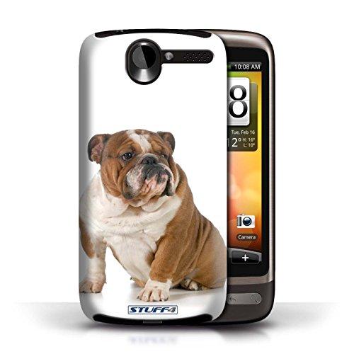 Etui / Coque pour HTC Desire G7 / Bouledogue conception / Collection de Chiens