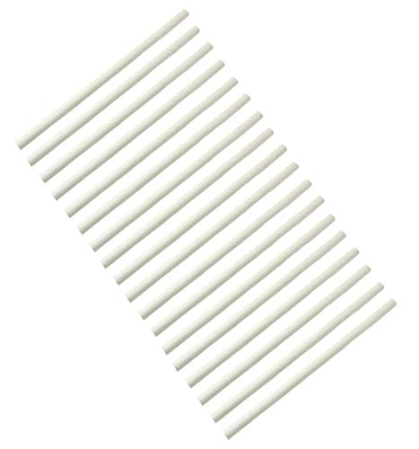 Hongso 17Y-New CR123-18 Universal Gas Grill Ceramic Radiants, BBQ Grill Ceramic Rods Replacement 9.5