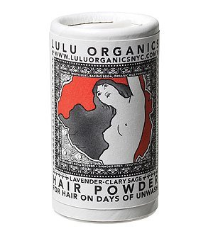 Lulu Organics Hair Powder Lavender + Clary Sage (Travel Size) 1 oz