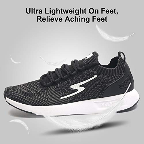 SelfieGo Men s Athletic Sport Fashion Sneakers Ultra Lightweight Trail Running Walking Fitness Jogging Cross Training Gym Shoes Extra Insole Included