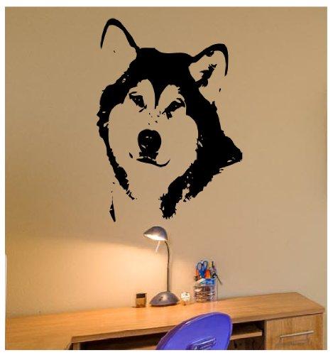 Alaskan Husky Wall Decal Decor Art Sticker Mural