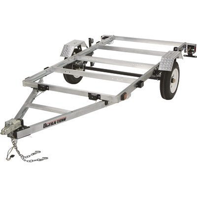 Ultra-Tow 4ft. x 8ft. Folding Aluminum Utility Trailer Kit -...