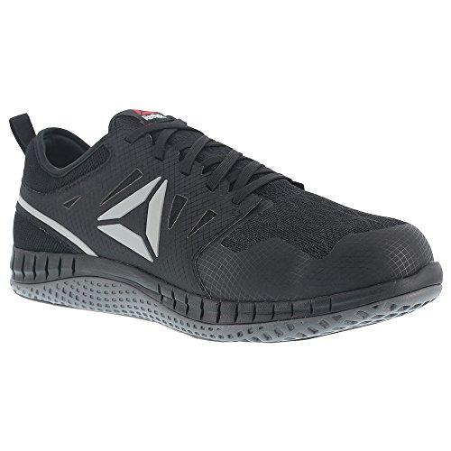 Reebok Work Men's Zprint Work Black/Dark Grey 10 D US (Steel Toe Trainers)