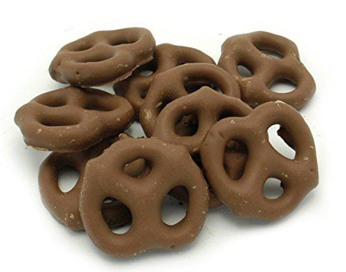 Weaver Chocolates Milk Chocolate Compound Covered Mini Pretzel (1 LB.)