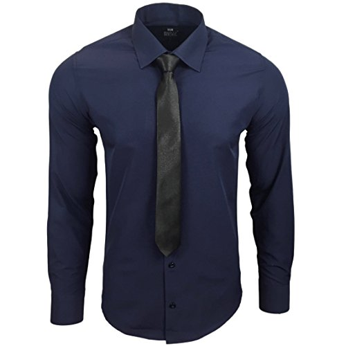 Con nbsp;kr Camicia Business Rusty 55 Uomo Neal Blu Cravatta R gyPqyFc01