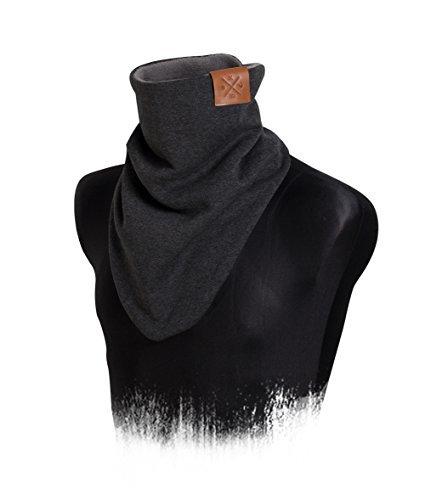 Windbreaker - Bandana, Dark Rough Grey, Tuch Schal, Jersey/Sweat, Halstuch (M13)