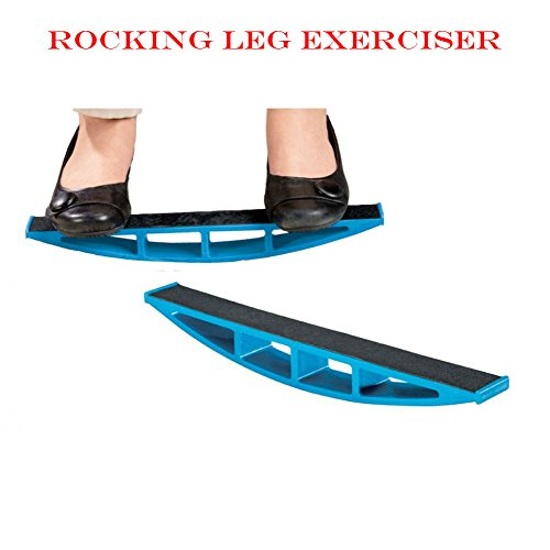 Intense Rocking Leg Exerciser - Get An Intense Workout Anytime Anywhere by Fitness Bargains