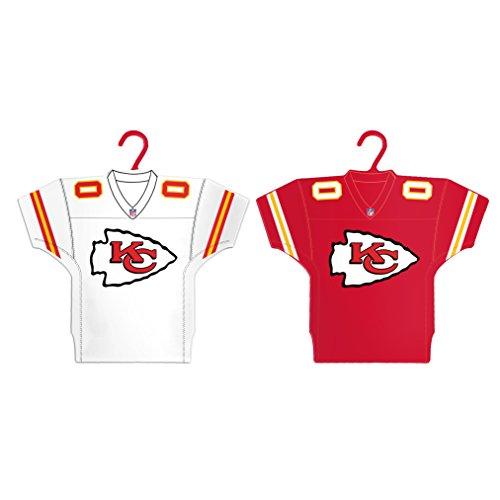 - Boelter Brands NFL Kansas City Chiefs Home & Away Jersey Ornament, 2-Pack