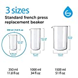 GROSCHE Universal Fit French Press Beaker for all