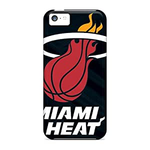 CBuycases Snap On Hard Case Cover Miami Heat Protector For Iphone 5c