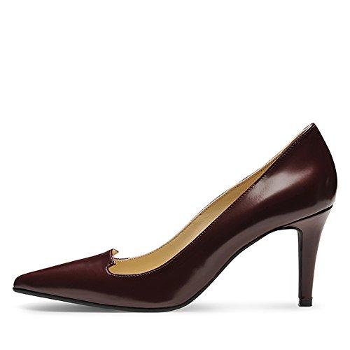 Evita Shoes - Zapatos de vestir de Piel para mujer Morado - rojo oscuro
