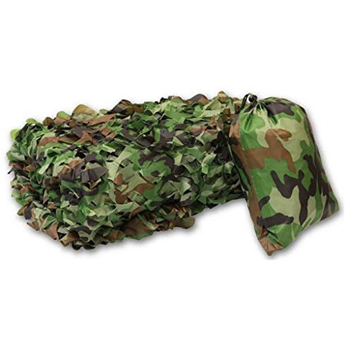 GONGFF Shade Net Oxford Cloth Waterproof Camouflage Net Outdoor Jungle Camouflage Net Plant Flower Protection Net Decoration Net Jungle Camouflage 6 Yards (Size : 4 5m)