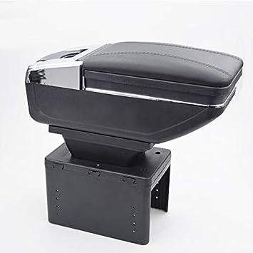 Reposabrazos central para coche caja de almacenamiento de piel sint/ética ajuste universal
