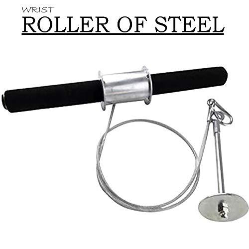 UnitedUshop Steel Wrist Roller Blaster – Forearm Roller Hand Strengthning Traning Workout Exceriser – Made to Last
