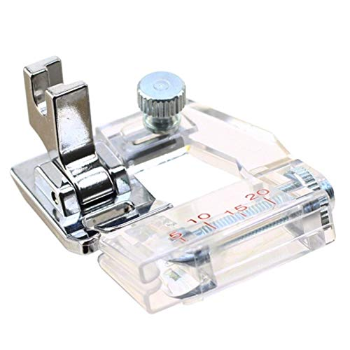 DREAMSTITCH 6287 Low Shank Bias Tape Binding Presser Foot for Babylock,Brother,Janome,Kenmore,Pfaff,Simplicity,Singer Sewing Machine #ESG-ABB -6287