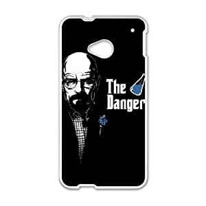 HTC One M7 Cell Phone Case White Breaking Bad A Gtnf