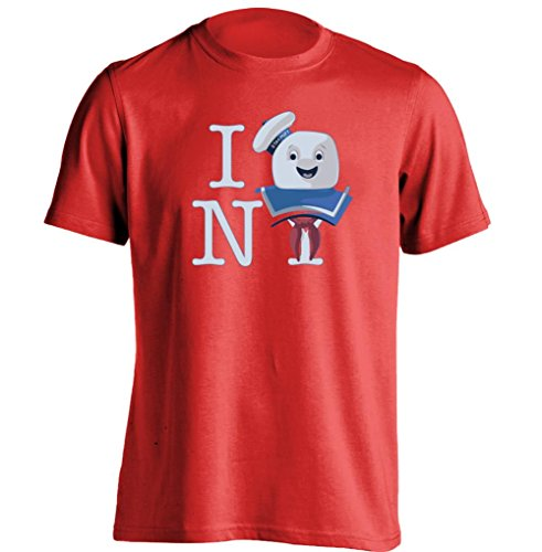 I Love New York Ghostbusters Stay Puft Marshmallow Unisex Personalized T Shirt