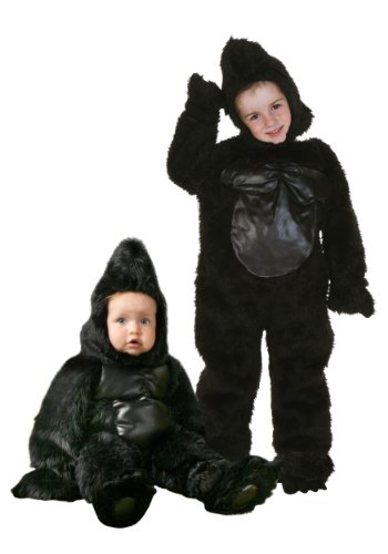 [LF Products Pte. Ltd dba Palamon International Gorilla Costume Small (4-6)] (Child Monkey Costumes)