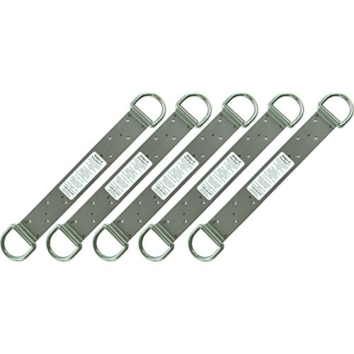 Guardian Protection 00510 18-inch 2 D-ring Ridge-It Fall Arrest Anchors, - Roof Fall Anchors Arrest
