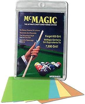 McDermott McMagic – Papel de Pulido para Taco de Billar: Amazon.es: Deportes y aire libre