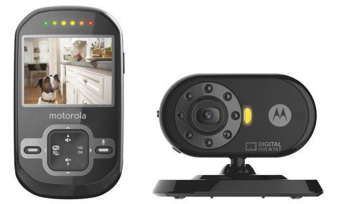 Motorola-Pet-Scout600-Remote-Wireless-Pet-Monitor-with-24-Inch-Color-LCD-Screen-Infrared-Night-Vision-Remote-Camera-Pan-and-Tilt