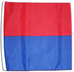 Stock Bandera/Stock suizo Cantones Tessin + Gratis Pegatinas, Flaggenfritze–Bandera, Flagge 30 x 45 cm mit Hohlsaum