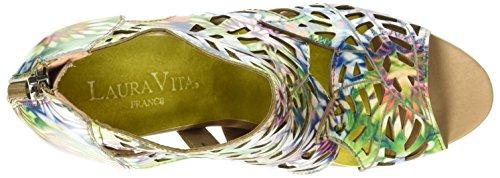 Sandals Albane Blue Bleu Laura Bleu WoMen 0482 Open Toe Vita q5zzcYxwS0