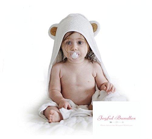 Baby Absorbent Back Towel (Bear) - 6