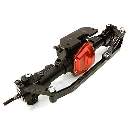 Integy RC Model Hop-ups OBM-TFF Complete Alloy Front Axle for Axial 1/10 SCX-10, Dingo, Honcho & Jeep