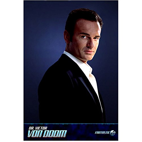 Fantastic Four Julian McMahon as Dr. Victor Von Doom Turned to Side 8 x 10 Inch Photo