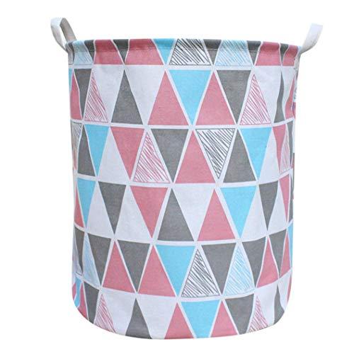 (Creazy Waterproof Sheets Laundry Clothes Laundry Basket Storage Basket Folding Storage (A))