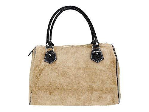 Véritable Bandoulière 10 Cm Scarlet 23 Cuir Femme Sac 30 Pour En Beige Bag X AAxXq4