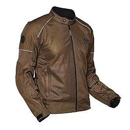 Royal Enfield Men's Streetwind V2 Riding Jacket ( Brown , XXL , 46 cm , RRGJKM000029)