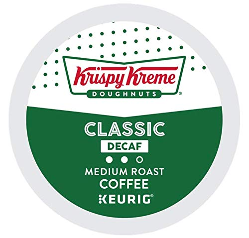 Krispy Kreme Doughnuts Decaf K-Cups for Keurig Brewers (48 Count)
