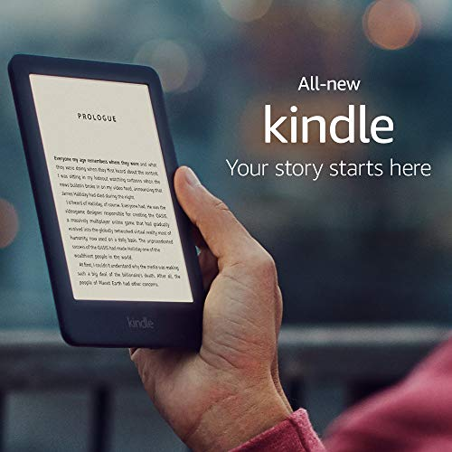 Amazon All-new Kindle, now with a built-in front light