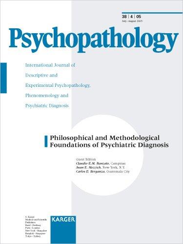 Philosophical and Methodological Foundations of Psychiatric Diagnosis (Psychopathology)