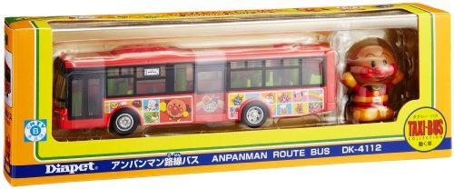1/64 アンパンマン路線バス(レッド) 「ダイヤペット タクシー・バスコレクション」 DK-4112