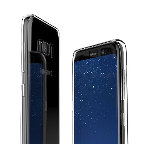 Case Army Galaxy S8 Plus | S VIII + | SM-G955 Clear Case [Manifest] Scratch-Resistant Slim Clear Case for Samsung S8 Plus | SM-G955 [2017] Soft Flexible Silicone Crystal Clear Cover with TPU Bumper