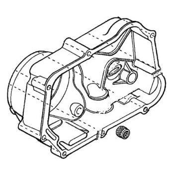 Amazon Com Honda 11330 Gcf 670 Cover R Crankcase Automotive