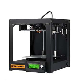 GIANTARM® Mecreator2 impresora 3D de interior ensamblada con cuadro de metal resistente compatible con multiples filamentos