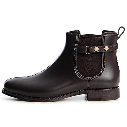 Bottines Brun Femmes Topschuhe24 Chelsea Boots B6qwRC5wxn