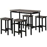 Milton Greens Stars 7866 7866-Milton Greens Stars Dining-Room-Sets, Brown