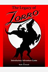 The Legacy of Zorro Introductory Adventure Game Paperback