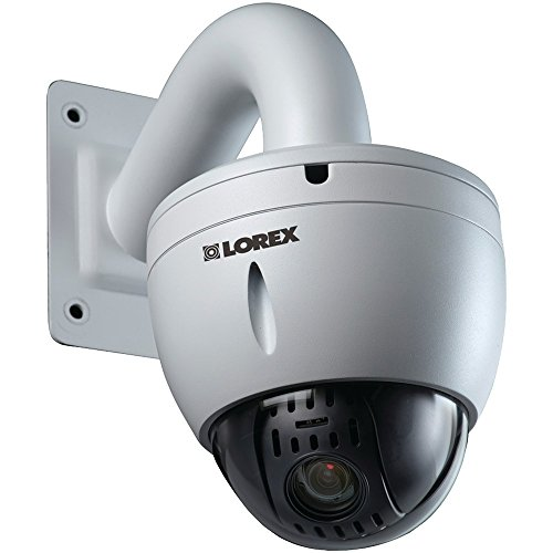 LOREX LNZ32P12SB 1080p PoE PTZ IP Camera, White