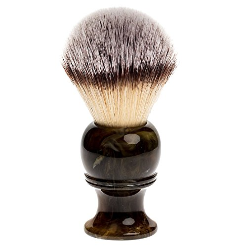 Fendrihan Synthetic Shaving Brush with Resin Handle for Personal and Professional Shaving