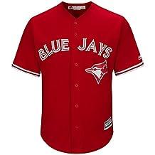 Toronto Blue Jays Men's Cool Base Replica Alternate Red Jersey
