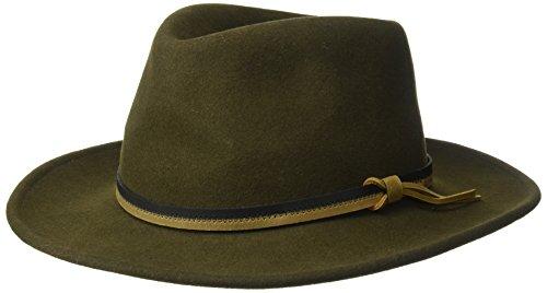 Country Gentleman Men's Outback Wool Drop Brim Fedora Hat...