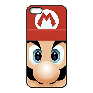 iPhone 5 5s Cell Phone Case Black Super Mario Bros rikx