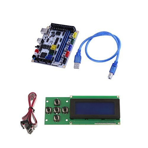 MagiDeal 3D Printer Controller Mainboard Ramps1.4 Control Board +2004 LCD Smart Display Screen by MagiDeal